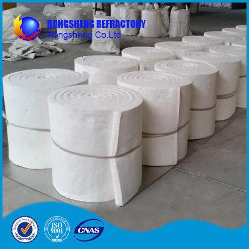 High Temp Ceramic Fiber Blanket Insulation , Refractory Thermal Insulating Blanket