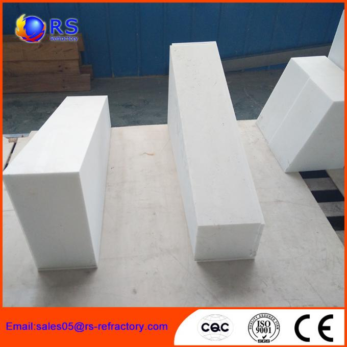Fireproof High Temperature Corundum Mullite Brick For Gas Furnace , Roatry Kiln