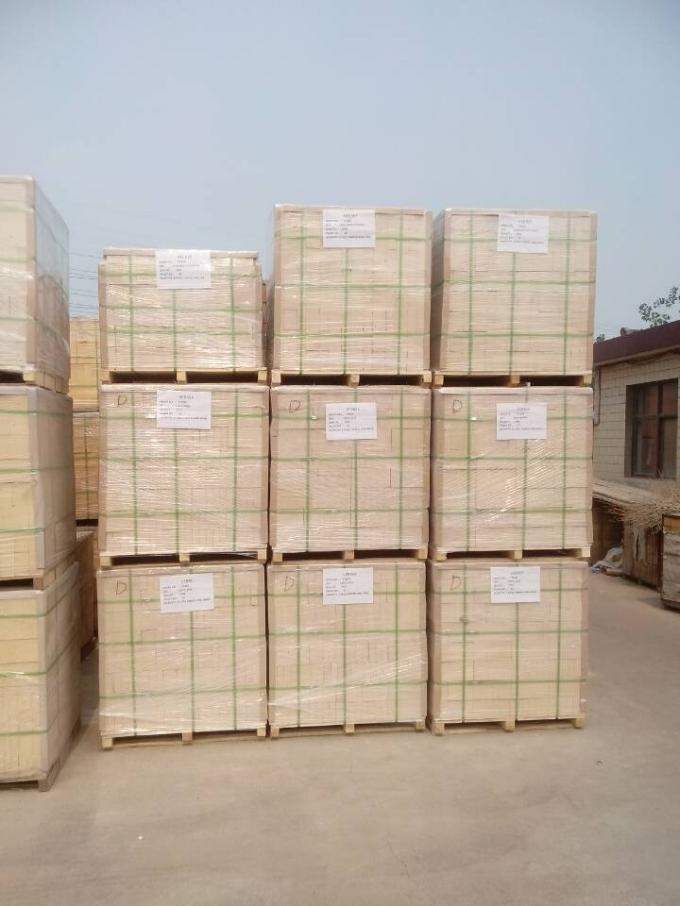 Fused Cast Azs Refractory High Temperature Brick For Glass Melting Furnace , Customized Size