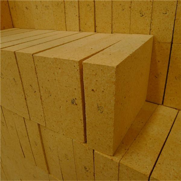 Alumina Cement Fire Safe Bricks , Low Porosity Customized Refractory Clay Bricks