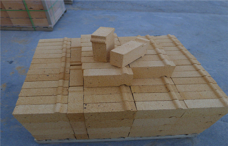 Alumina Cement Fireclay Brick Refractory Material For Chemical Industry