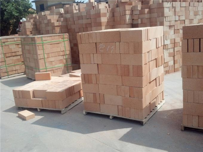Customized Size Fireclay Brick High Strength Low Porosity For Building Materials