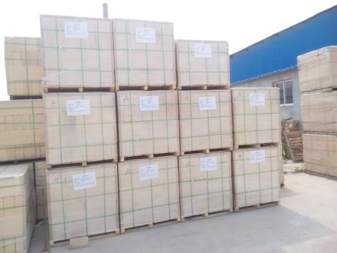 Refractory Material Heat Resistant Bricks , Curved Fire Brick For Blast Furnace