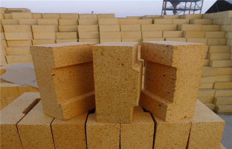 Al2O3 38- 42% Fireplace Refractory Brick High Density For Blast Furnace Glass Kiln