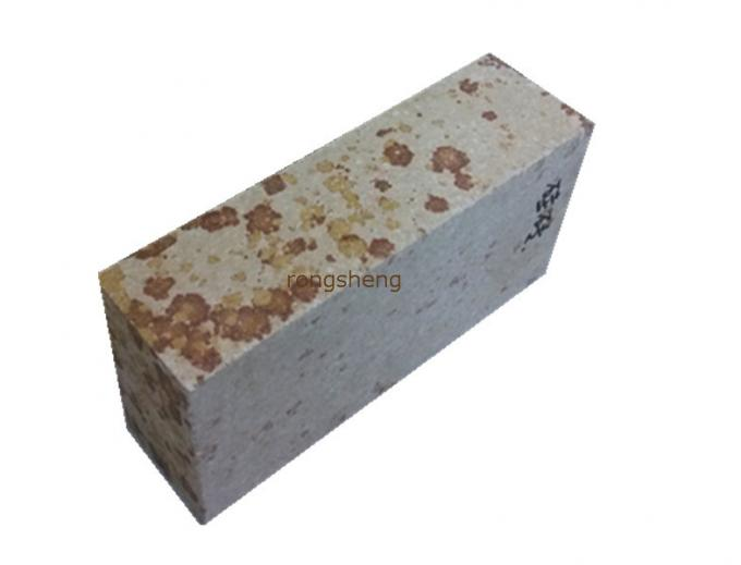 Heat Resistant Silica Refractory Bricks , Replacement Fire Bricks For Furnace Oven Kiln