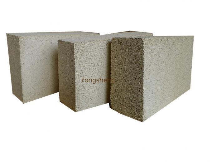 Rotary Kiln Fireplace Refractory Brick , Light Weight Fire Clay Insulating Brick