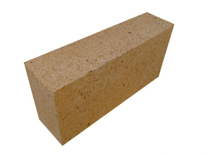 Thermal Insulation Fireplace Refractory Brick With Furnace Lining , High Density