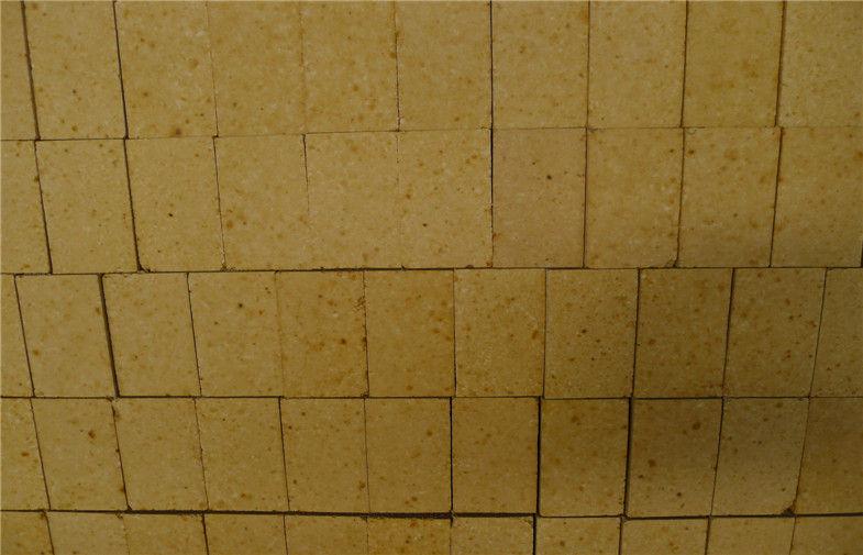 Kiln Magnesia Spinel Bricks , Customized Curved Refractory Fire Bricks