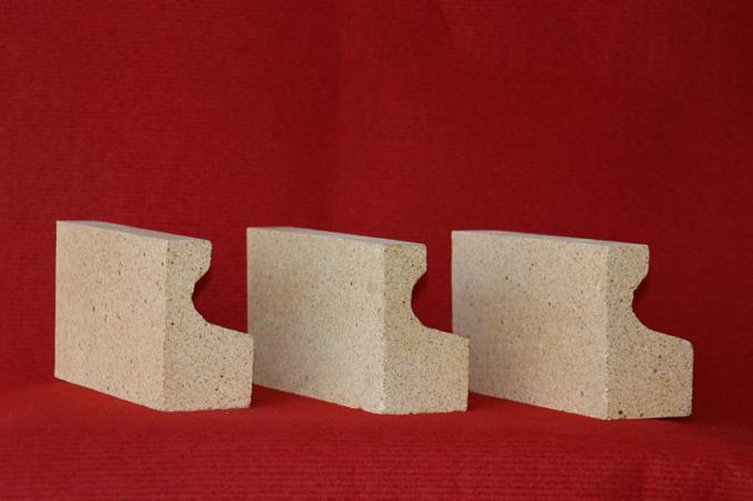 Thermal Fireproof Bricks / High Alumina Refractory Brick Iso9001 Certificate