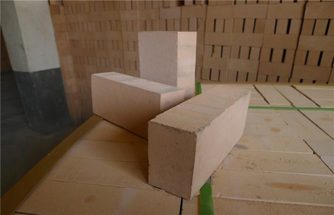Heat Resistant Insulating Lining Fire Clay Bricks Refractory Blocks , High Temperature