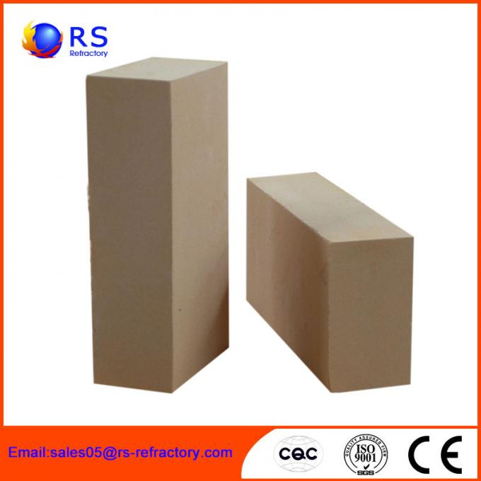 Low Thermal Conductivity High Temperature Refractory Bricks For Chemical Fertilizer Plant