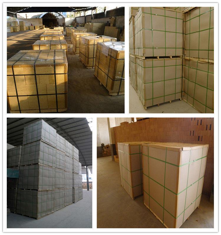 High Mechanical Intensity Firing Kiln Kiln Refractory Bricks With 48% Al2O3