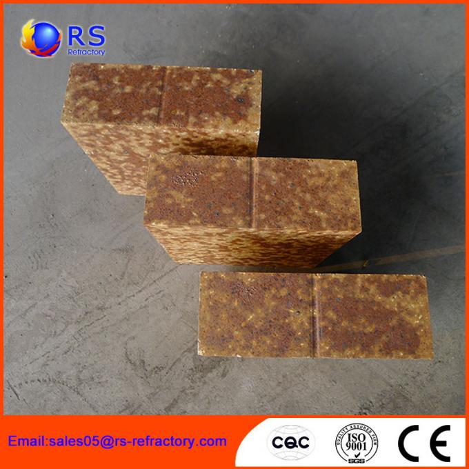 Industrial Aluminum Silicate Fire Brick , Mullite Bricks With Good Swag Performance