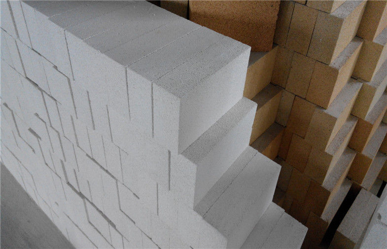 JM23 JM26 Mullite Refractory Bricks , Insulating Fire Brick For Rotary Kiln Lining