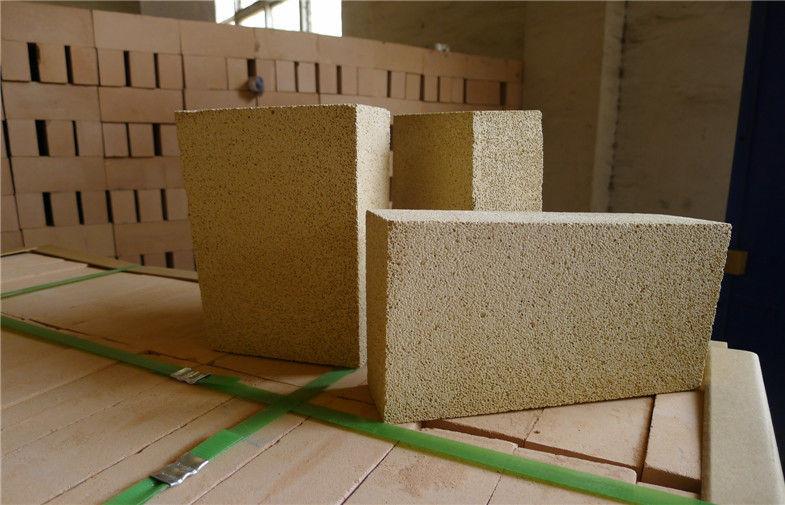 Lightweight Insulation High Alumina Kiln Refractory Bricks For Ferroalloy Furnace
