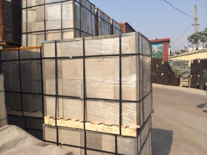 Fused Grain Rebounded Refractory Fire Bricks Customized Size For Glass Furnace