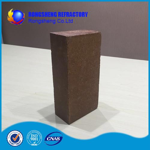 MgO content 92% Magnesia Brick 2.9 bulk density for kilns , good strength