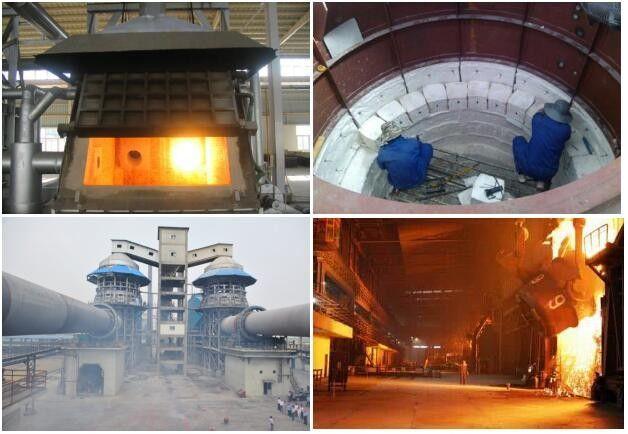 Lower Iron /  Alkaline IM 23 Mullite Brick For Steel Plant / Blast Furnace