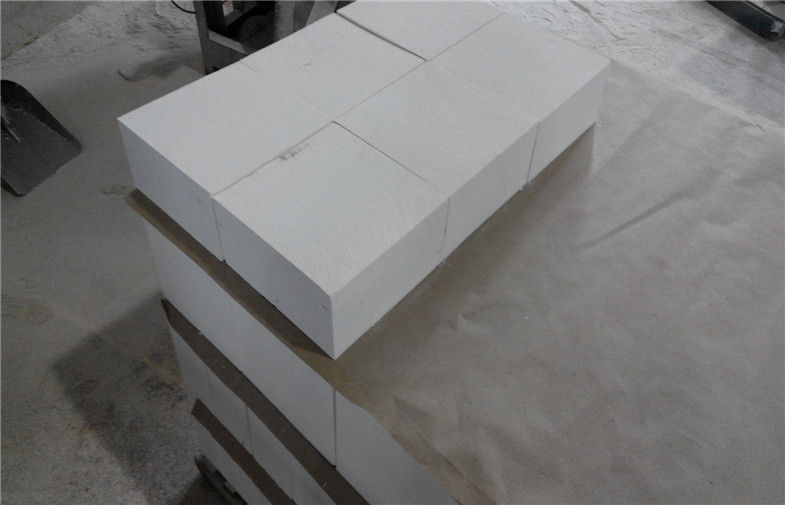 Wear Resistant Mullite Brick Standard Size For Cement Kiln ISO Approved