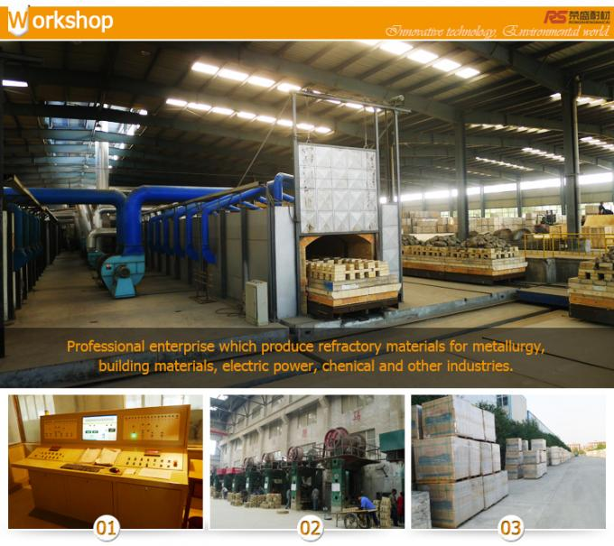 Construction Insulated High Alumina Castable Refractory For Boiler Furnace