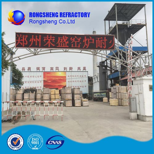 Silica mullite brick Refractory Products apply cooler and hoops in cement industry