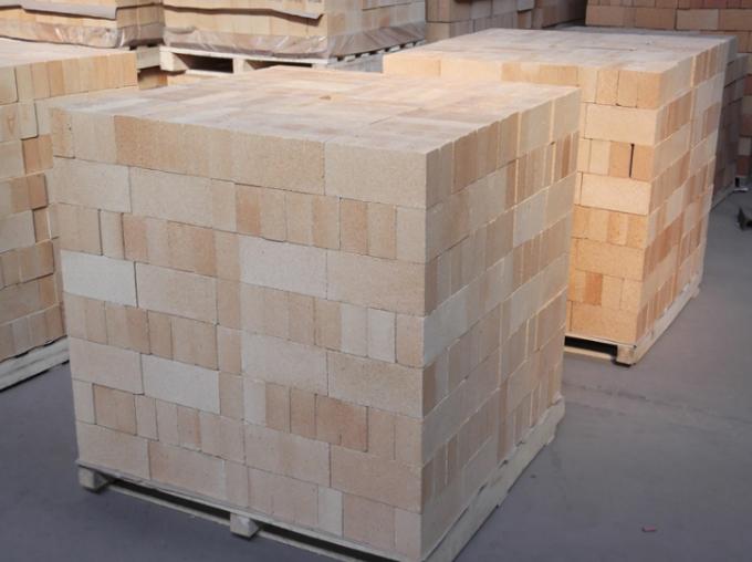 Customized Size Acid Resistance Silica Refractory Bricks For Glass Kiln