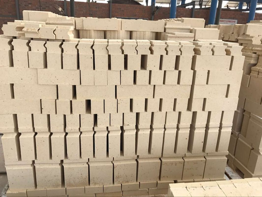 High Temperature Resistant Aluminum Silicate Fire Brick For Rotary Kiln / Furnaces