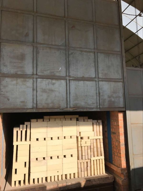 Low Thermal Expansion Rate Silica Refractory Bricks for Hot Air Furnace , 230*114*65